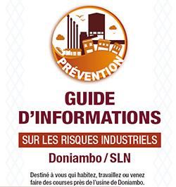 Guide d'informations sur les risques industriels - Doniambo / SLN
